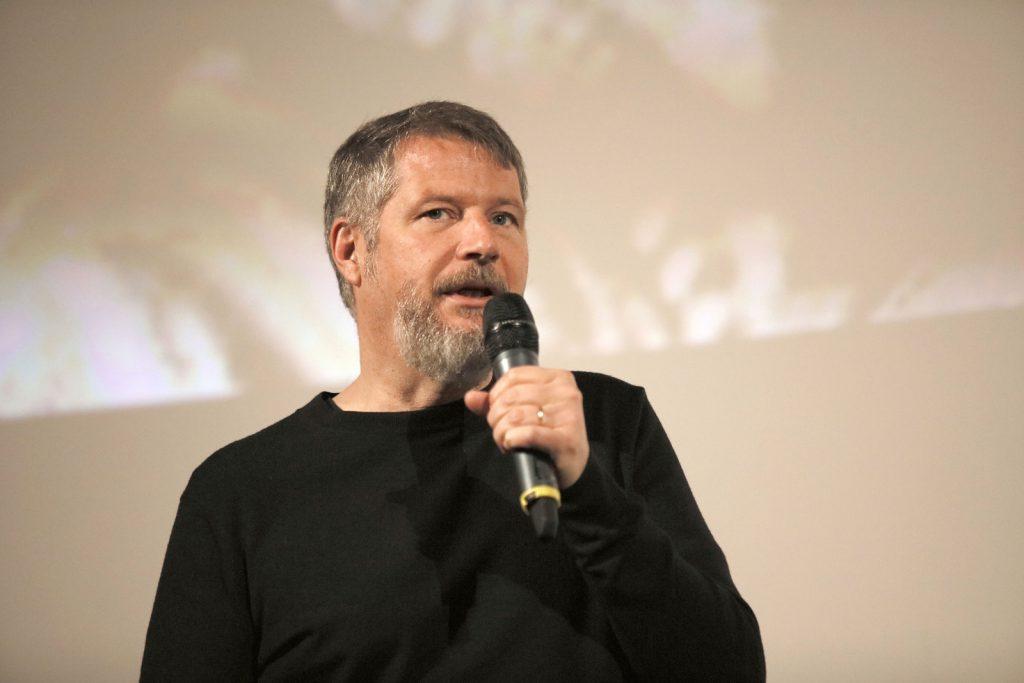 Eröffnungsgast Regisseur Andreas Prochaska (Die 3 Posträuber)