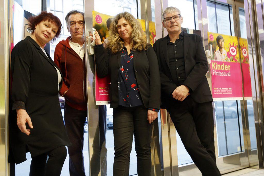 Unsere Festivalleitung: Martina Lassacher, Franz Grafl, Elisabeth Lichtkoppler, Michael Roth
