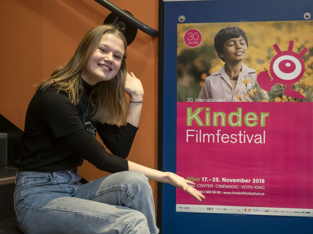 Festivalgast: Schauspielerin Nola Kemper (100% COCO)