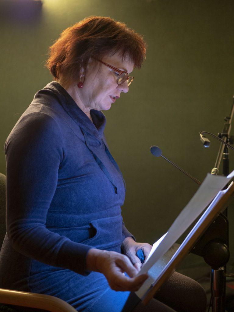 Einsprecherin Martina Lassacher