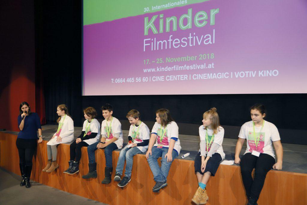 Die Kinderjury verkündet die Preise des Internationalen Kinderfilmfestivals 2018