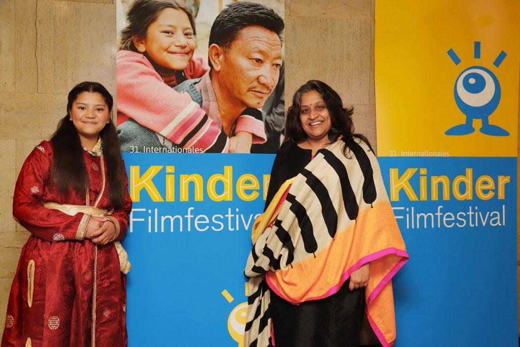 Festivalgäste Jigmet Dewa Lhamo und Priya Ramasubban