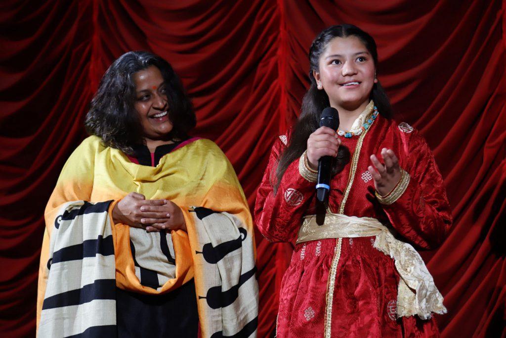 Regisseurin Priya Ramasubban und Hauptdarstellerin Jigmet Dewa Lhamo